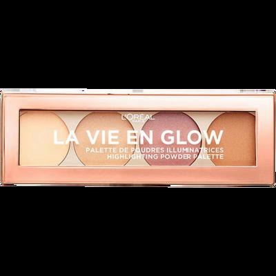 Palette illuminatrice la vie en glow éclat doré nu L'OREAL PARIS