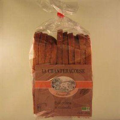 Biscottes BIO Essentielle LA CHANTERACOISE,280g