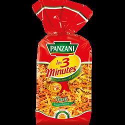 Torti légumes cuisson rapide PANZANI, paquet de 500g