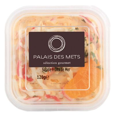 SALADE FRUITS DE MER 120G