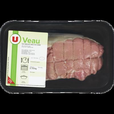 Rôti de veau *** avec barde, U, France, 1 pièce