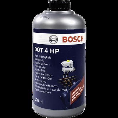 Liquide de frein Dot4hp, 500ml, compatible tous systèmes de freinagehydraulique hors liquide minéral