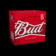 Bud Bière Blonde , 5°, 12x25cl