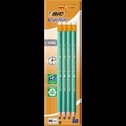 Bic Crayons Graphite Evolution 655 Bic, Hb, Corps En Résine, 8 Unités