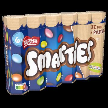 Smarties Smarties Hexatube (6x34g)