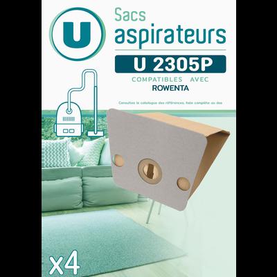 SAC ASPIRATEUR U SU2305P X4