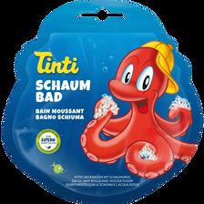 Bain moussant rouge TINTI,  flacon de 20ml