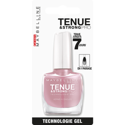 "Vernis à ongles ""Tenue et strong"" n°130 rose poudré 10 ml - blister MAYBELLINE"