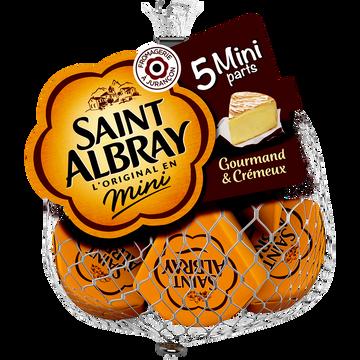 Saint Albray Fromage Pasteurisé Saint Albray, 33% De Mg, 5x30g Soit 150g