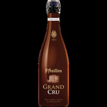 Saint Feuillien Bière Blonde Saint Feuillien Grand Cru 9,5°, Bouteille De 75cl