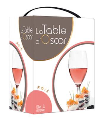 LA TABLE D'OSCAR ROSE