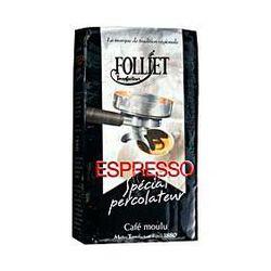 CAFE ESPRESSO MOULU, FOLLIET, 250g
