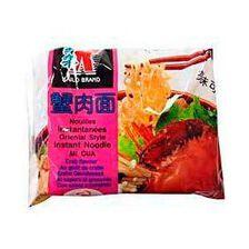 Nouilles instantanées arôme crabe KAILO BRAND, sachet de 85g