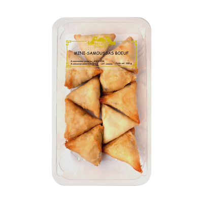 Mini-samossas boeuf apéritifs, DELICES D'ORIENT 200g