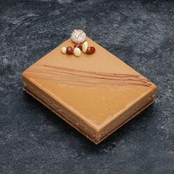 Croustillant caramel beurre salé décongelé, 4 pièces, 560g