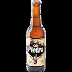 Bière ambrée de Corse PIETRA, 6°, bouteille de 33cl