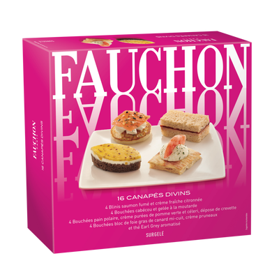 Canapés divins FAUCHON, x16, 110g