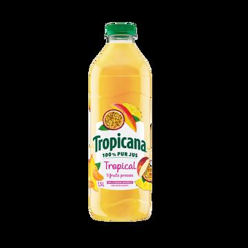 Tropicana Pur Jus Multifruits Tropical Tropicana Pet 1,5 Litre