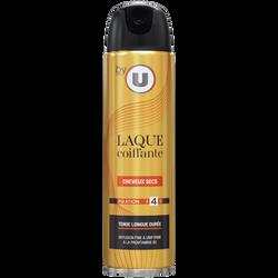 Laque cheveux secs BY U, atomiseur de 300ml