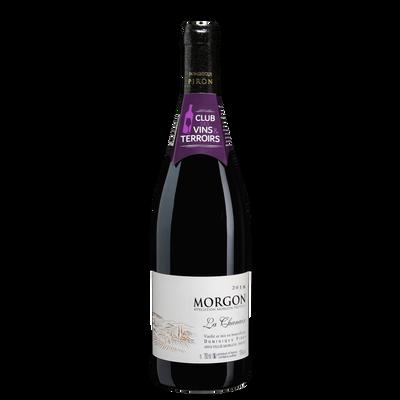 Clud des vins & terroirs Morgon la Chanaise AOP rouge Dominique Piron2018, 75cl