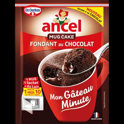 Préparation pour gâteau fondant au chocolat ANCEL, sachet de 70g