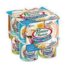 Yaourt Panier Mixé aux fruits X8