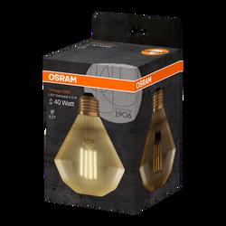 Ampoule led filament OSRAM diamant 40W culot E27 blanc très