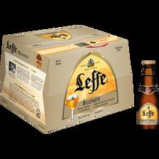 Bière blonde ABBAYE DE LEFFE, 6,6° pack de 20x25cl