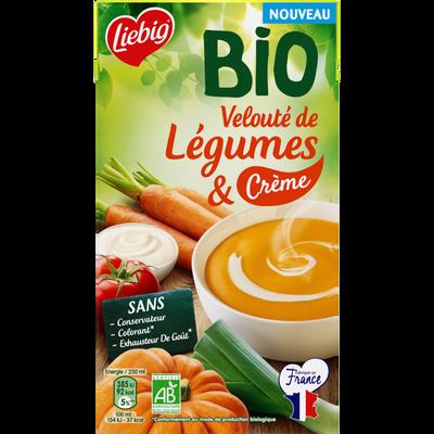 Soupe velouté de légumes et crèmes bio LIEBIG, 1l