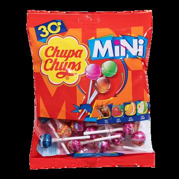 Chupa Chups Mini Sucettes Aux Goûts Assortis Chupa Chups, 180g