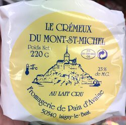 Crêmeux du Mont-St-Michel 220g