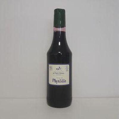 Sirop de myrtilles LES CONFITURIERS DU VIEUX CHÉRIER bouteille 50cl