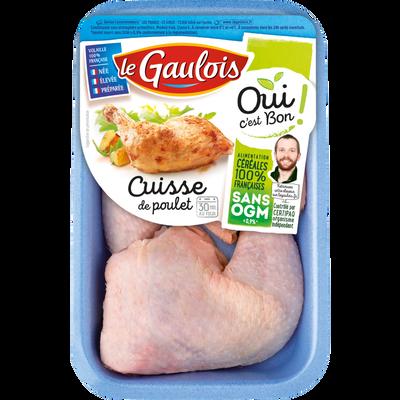 Cuisse poulet blanc, OCB LE GAULOIS, France, 2 pièces