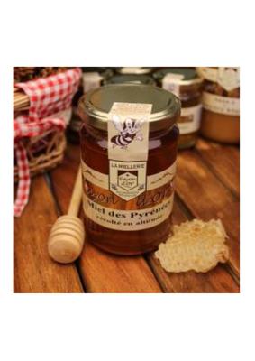 Miel de montagne des Pyrénées RAYON D'OR