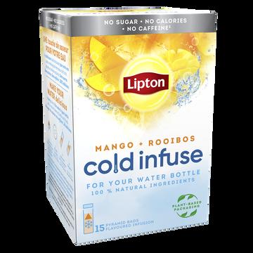 Lipton Lipton Infuse Froid Mangue Rooibos Sachets Pyramide X15 33gg