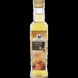 Vinaigre de noix U SAVEURS, bouteille en verre de 25cl