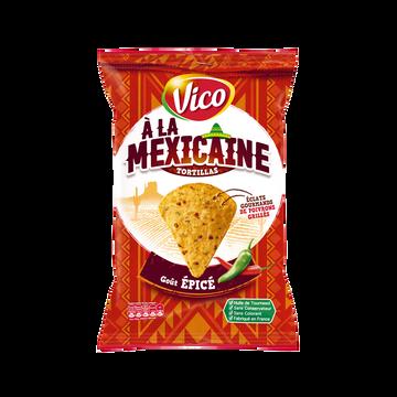 Vico Tortilla À La Mexicaine Goût Épicé Vico, Sachet De 150g