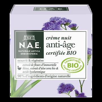 N.A.E. Crème De Nuit Anti-âge Bio N.a.e, 50ml