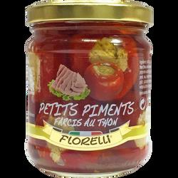 Petits piments farcis au thon FLORELLI, 190g