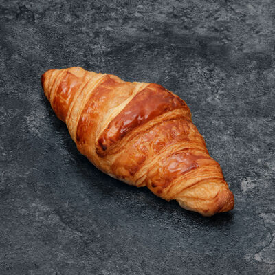 Croissant pur beurre, Sélection U, 2 pièces, 90g