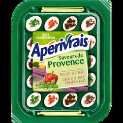 Fromage pasteurisé saveurs provençales APERIVRAIS, 31%mg, 100g