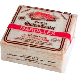 Maroilles AOP fermier au lait cru de vache 24%mg
