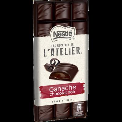 Chocolat noir ganache chocolat noir les recettes de l'atelier, NESTLE,150g