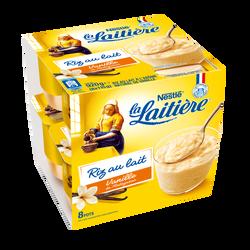 Riz au lait saveur vanille LA LAITIERE 8x115g 920g