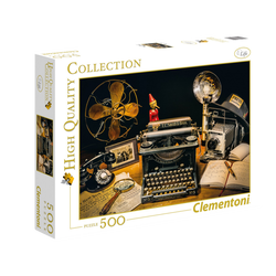 Puzzle 500 pièces high quality CLEMENTONI The typewriter