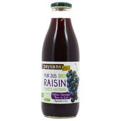 Pur Jus de raisin Bio - Paysans d'ici 1L