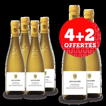 Touraine Vin Blanc Hve - Touraine - Aop - Les Calcaires 2020 - Carton 6x75cl