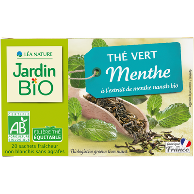 Thé vert Menthe nanah*** JARDIN BIO
