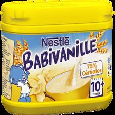Céréales infantiles Babivanille NESTLE, dès 10 mois, boîte de 400g