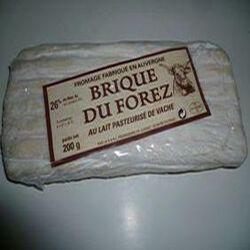 BRIQUE DU FOREZ DE VACHE FROMAGERIE DE JUSSAC